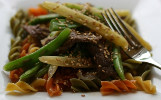 Asian Stir-fry with Beef and Vegetables