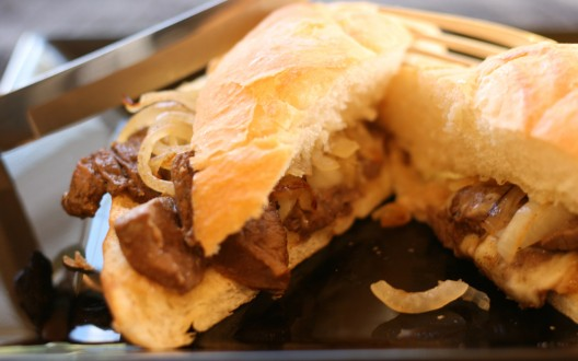 how to make a philly cheese steak sandwich video