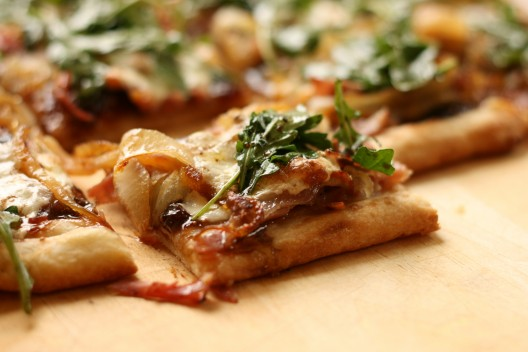 Prosciutto, Fig and Caramelized Onion Flatbread