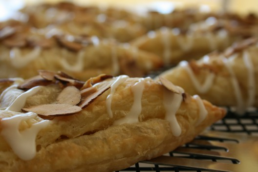 Almond Apple Turnovers