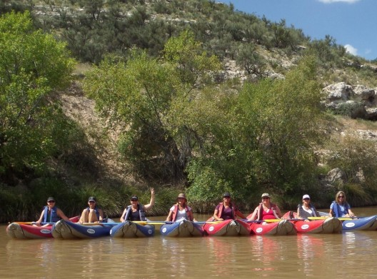 Kayaking on the Verde River