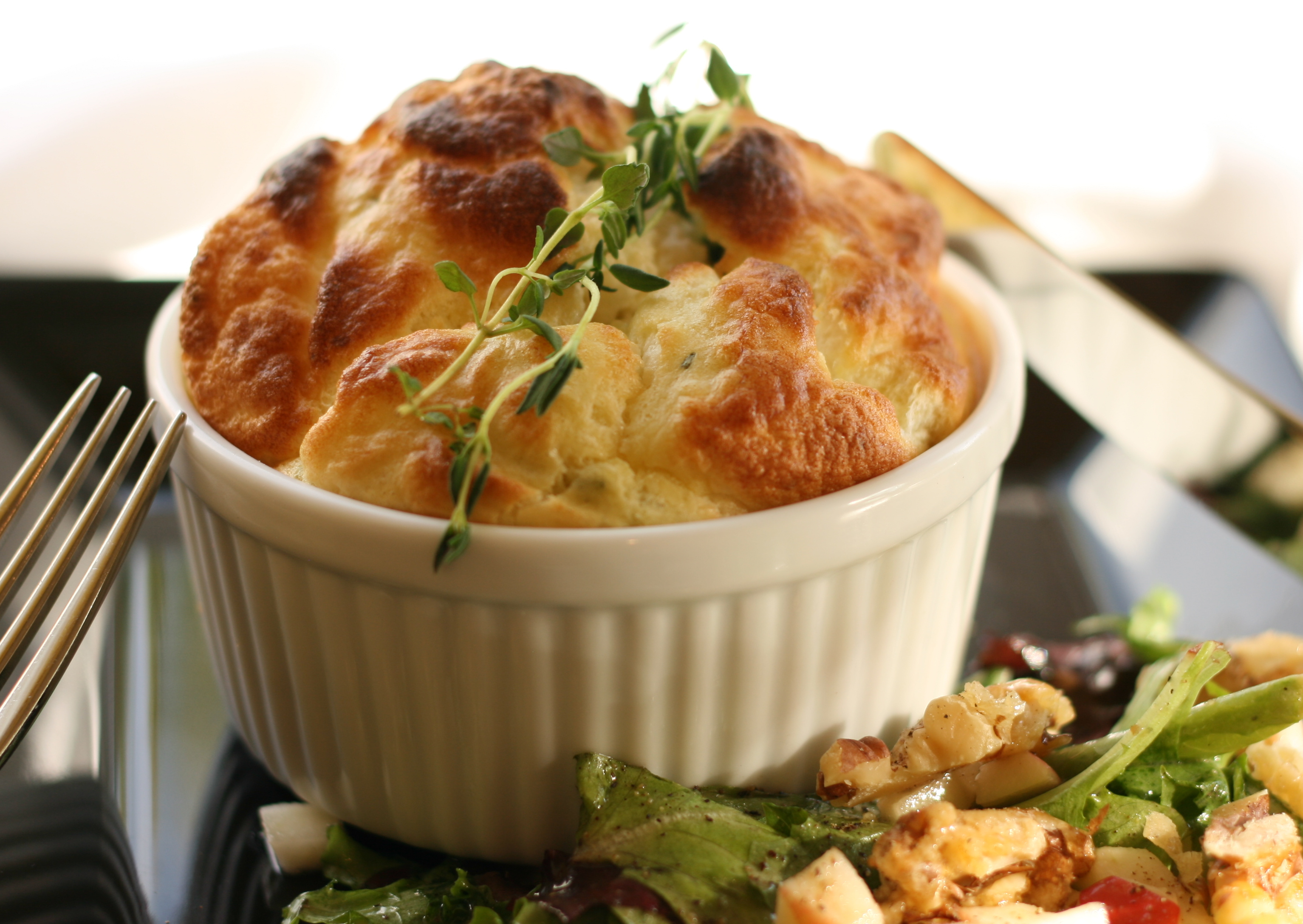 Special of the Day: Souffle + Salad for Supper - Sydne George
