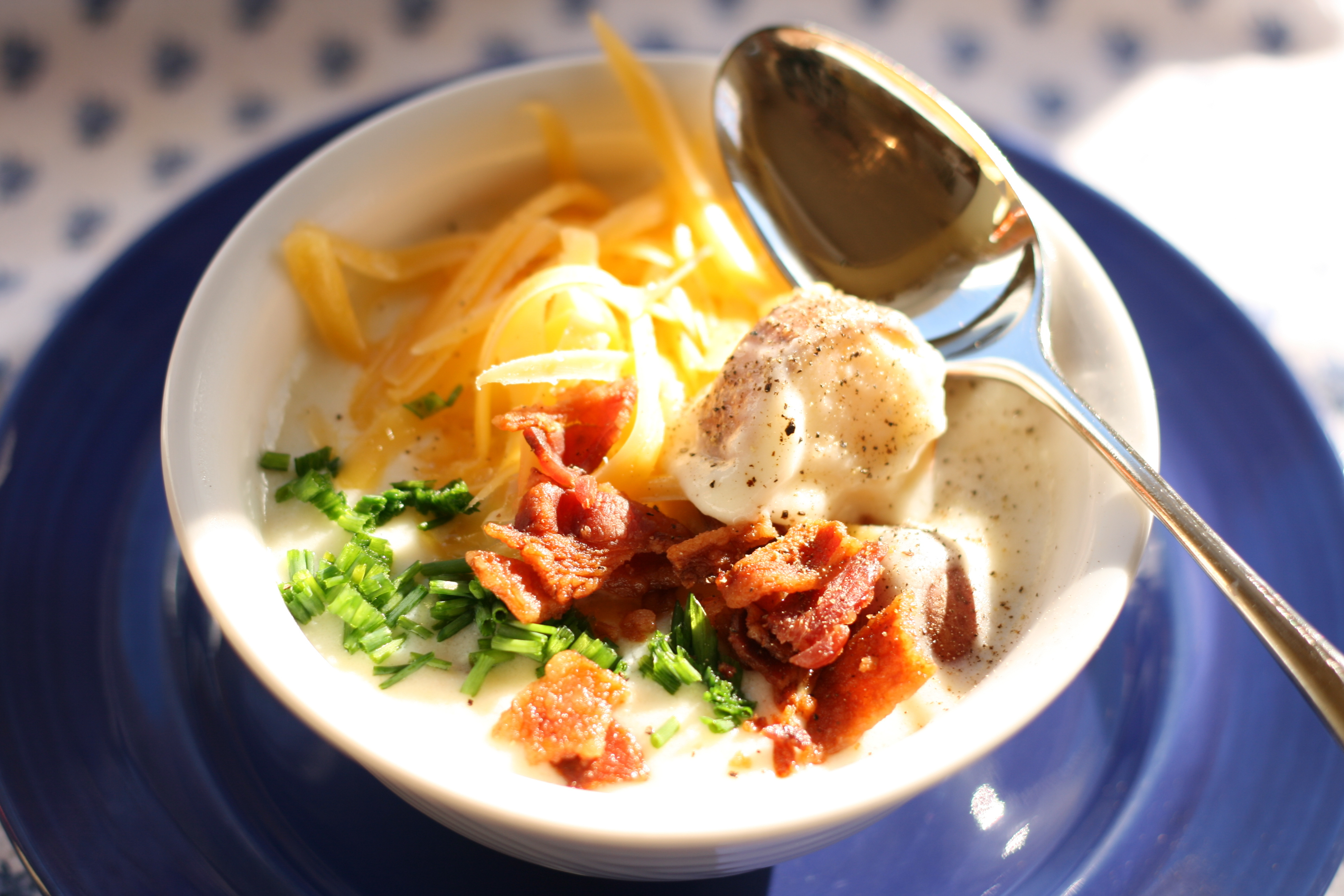 Special of the Day: Baked Baby Red Potato Soup - Sydne George