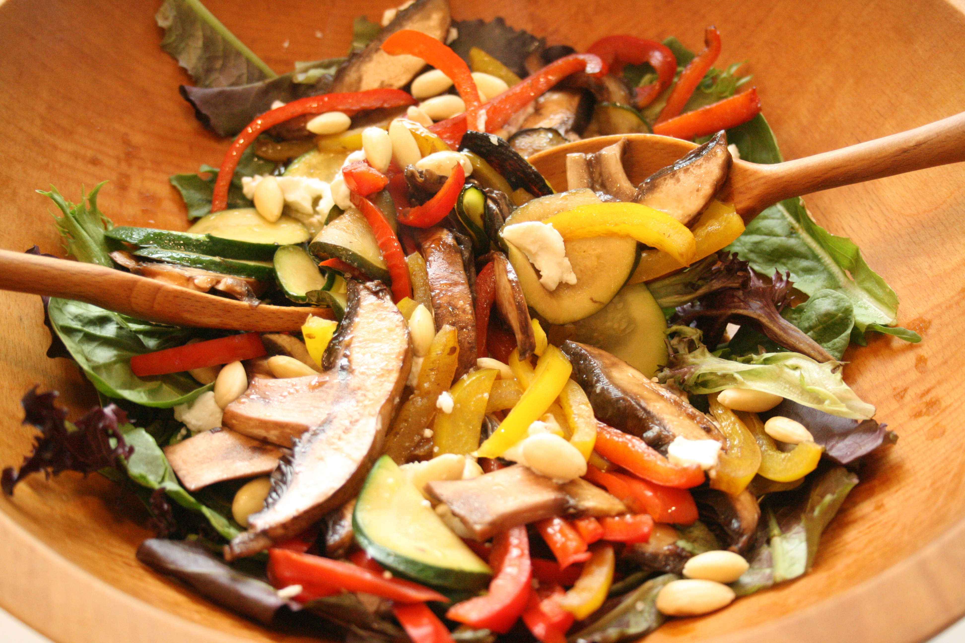 Toss together a Sautéed Vegetable Salad