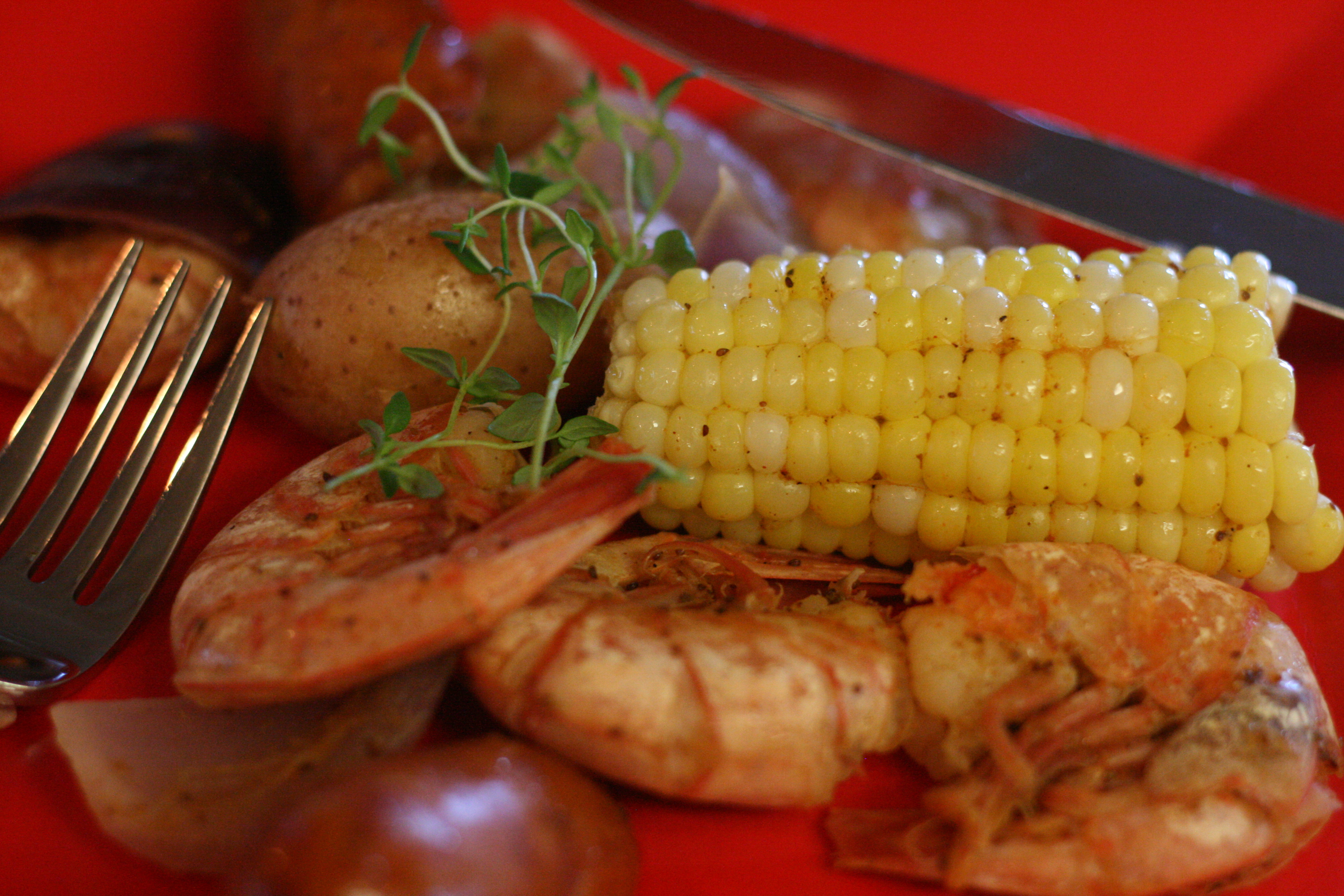 Summertime Shrimp Boil
