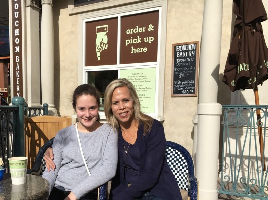 Bouchon Bakery with Madison and Sydne George