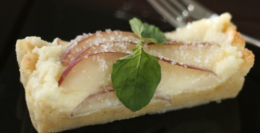 Almond Pear Tart