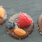 Bittersweet Chocolate-Toasted Almond-Berry Bites