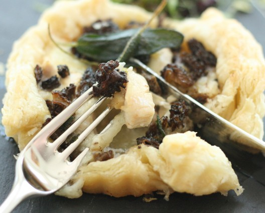 Rustic Chicken and Morel Mushroom Tart