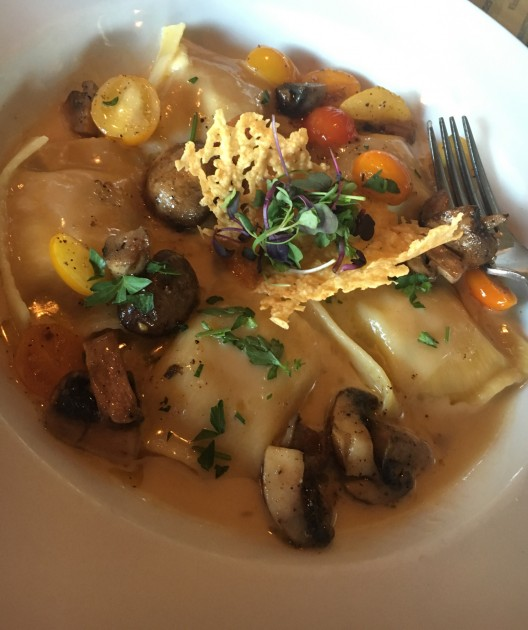 Lobster Ravioli from When in Rome in Bigfork