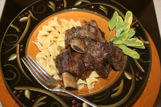 Maple Braised Short Ribs