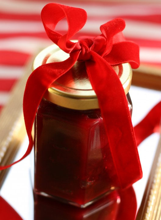 Grand Marnier-spiked Cranberry-Orange Compote