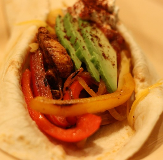 Grill-it-all-on-the-Griddle Fajita Fest