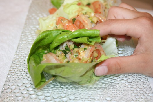 Louisiana Lettuce Wraps