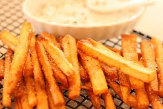 Pommes Frites with Truffle Salt