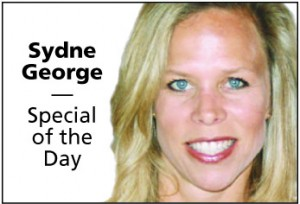Sydne George Special of the Day