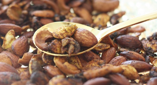 Curried Pumpkin Seed and Nut Medley